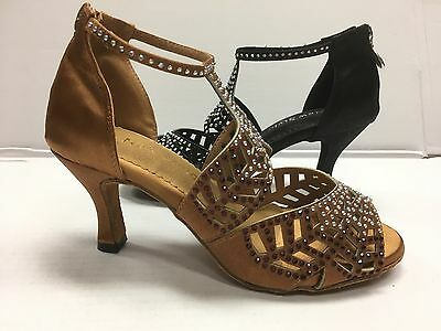 Women Ballroom Dance Salsa Latin Tango Cha Cha Prom Bridal waltz shoe Wedding 3""