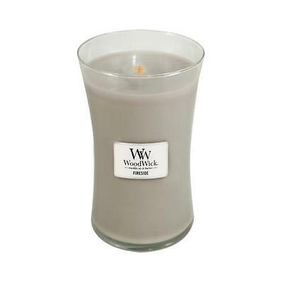 WoodWick Fireside Large Jar Scented Candle