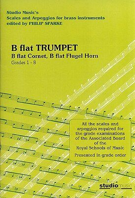 Scales and Arpeggios For Brass Instruments: B Flat Trumpe.... Cornet Sheet Music