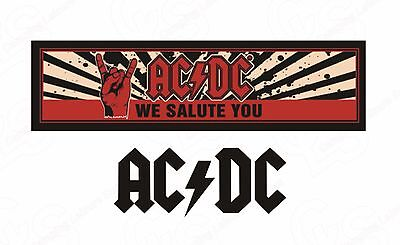 ACDC We Salute You - Bar Runner- New Official Licensed Product