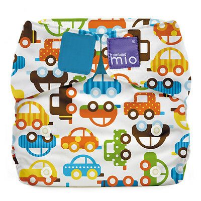 NEW Modern Cloth Baby NAPPY Reusable Adjustable Diaper Cars Traffic Jam