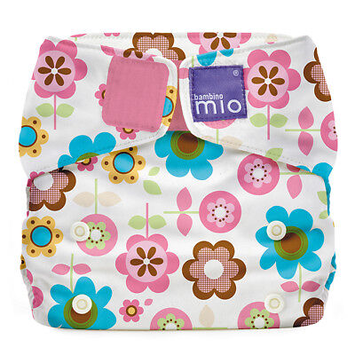 NEW All In One Reusable Nappy by Bambino Mio Solo Rosie Posie