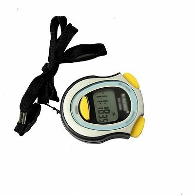 Digital Running Timer Chronograph Stopwatch Counter with Strap Pop CT