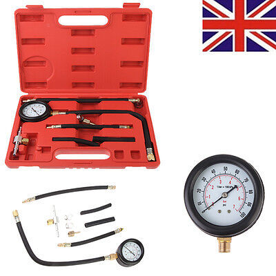 Car Fuel Injection Pump Pressure Tester Injector Spray Gauge Test Set With Box
