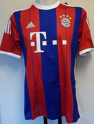 Bayern Munich 2014/15 S/s Home Shirt By Adidas Size Medium Brand New With Tags