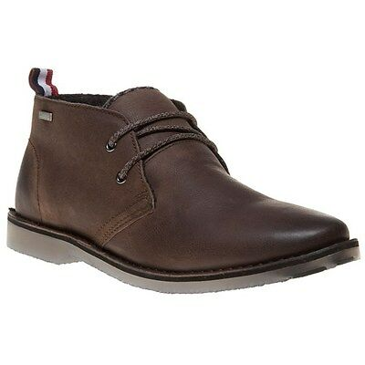 New Mens Superdry Brown Dakar Leather Boots Chukka Lace Up