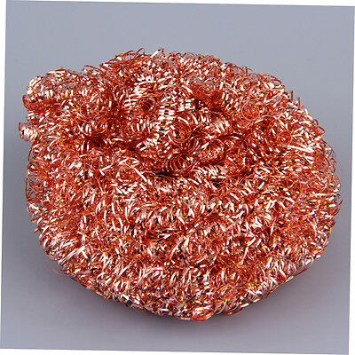 Reuseable Soldering Solder Iron Tip Cleaner Steel Cleaning Wire Sponge Ball FB