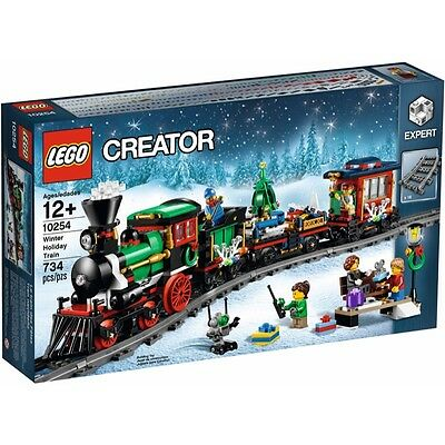 Lego New Genuine Creator [Expert] Set - Winter Holiday Train (10254)