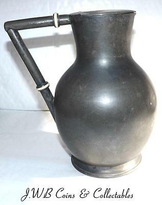 Antique Silver Plate / Pewter Jug By J.C.Thomas Ilfracombe