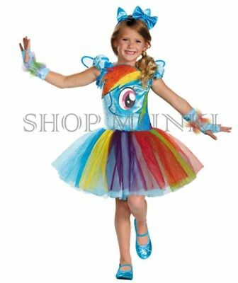 Disguise Girl's My Little Pony Dress Up Deluxe Costume