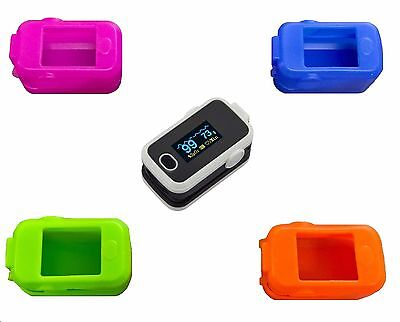 Aeon Fingertip Pulse Oximeter SpO2 Sats Monitor with FREE Cover and FREE Postage