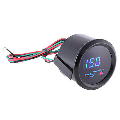 "Car 2"" 52mm Digital Blue LED Water Temp Temperature Gauge Meter 40-150°C MA920"