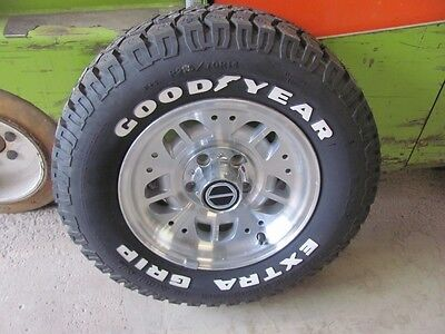 "NOS NEW Bronco II Ranger 14"" Alloy Wheel w/ Goodyear 215/70R14 Tire #2 ExtraGrip"