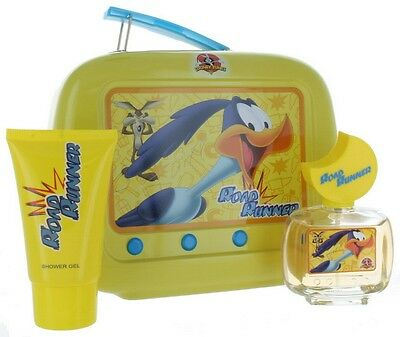 Road Runner by Looney Tunes for Unisex Lunch Box: EDT 1.7oz + SG 2.55 New in Box