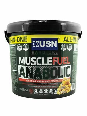 USN Muscle Fuel Anabolic All-In-One Muscle Mass Catalyst Lean Muscle 2kg - 4kg