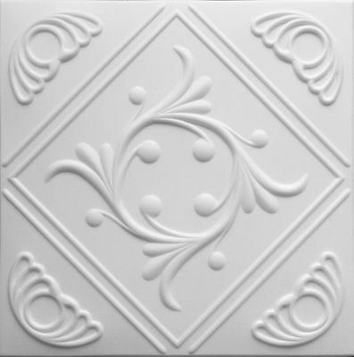 POLYSTYRENE TILES  PANELS WALL CEILING (Pack of 48) 12 Sqm - ANTIQUE