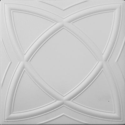 POLYSTYRENE TILES  PANELS WALL CEILING (Pack of 24) 6 Sqm - FLOWER
