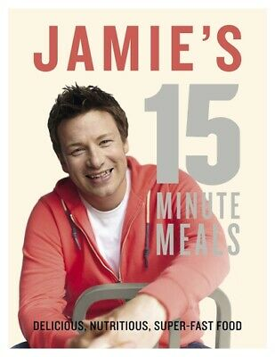 15 minute meals by Jamie Oliver (Hardback)