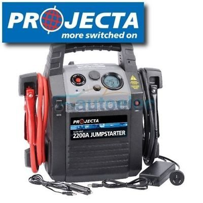 PROJECTA HP2200 BATTERY JUMP STARTER 2200A AMP JUMPSTARTER  12v 24v POWER PACK