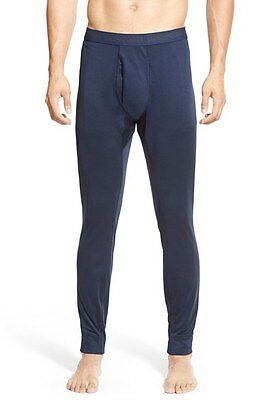 New! Men's Blue Patagonia 'Capilene 3' Midweight Base Layer Pants Size L 3091