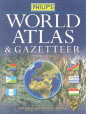 Philip's World Atlas and Gazetteer by Royal Geographical Society, The Hardback