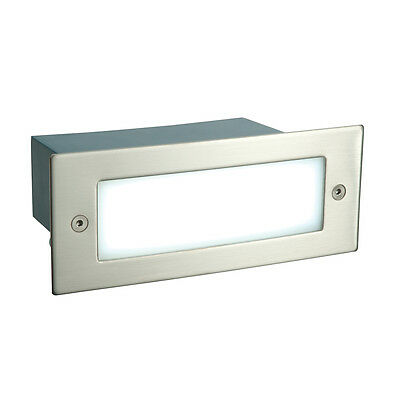 Saxby Endon - Kia - Modern Steel Outdoor Garden Recessed LED Wall Brick Light