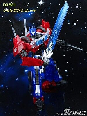 Transformers Dr.Wu DW TP-08 Blue Skybreaker The Sword Version in stock