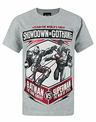 Ragazzi - DC Comics - Batman VS Superman Dawn Of Justice - T-Shirt (11-12 Anni)