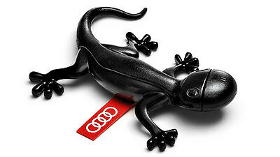Genuine Audi Black Gecko Air Freshener Woody Scent Aromatic 000087009D OEM