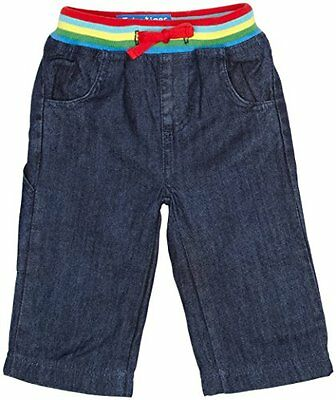 Toby Tiger - Jeans easy fit, bambina, Blu (Navy), 6 mesi