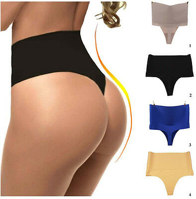 Body Shaper Thong G String High waist tummy control invisible Underwear Thong