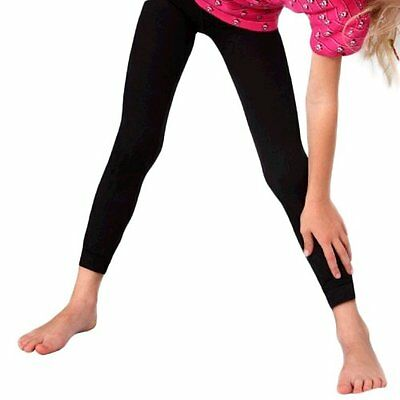 Fibrotex Kinder-Leggings 370 TB lang (110-116, graphite)