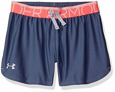 Play Up Under Armour-Pantaloncini sportivi da ragazza, Aurora, colore: viola, ta