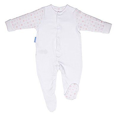 GroSuit BBA14412 Pink Hearts Twin Pack Pigiama, Multicolore, 9-12 Mesi