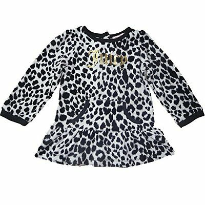 Juicy Couture Bambina Outfit tunica velluto Top Leopard 80-86