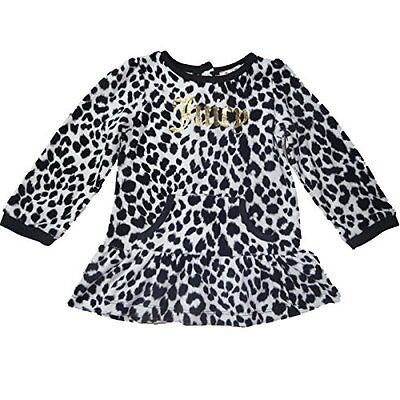 Juicy Couture Bambina Outfit tunica velluto Top Leopard 80 - 86