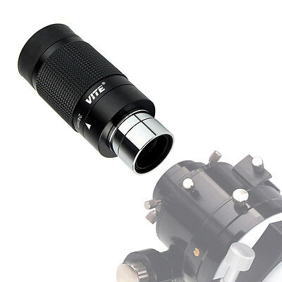 """New 1.25"""" Zoom Wide Angle Eyepiece for Astronomical Telescope Fully Multicoated"""