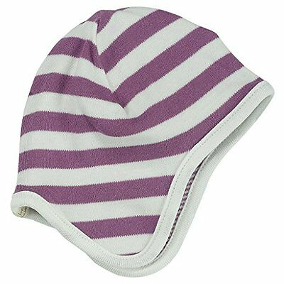 Pigeon organics For Kids Bonnet-Stripes Raspberry 0-5 m