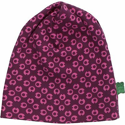 Fred's World by Green Cotton My I Mini Beanie, Cappellopello Bimbo, Rosso (Wine