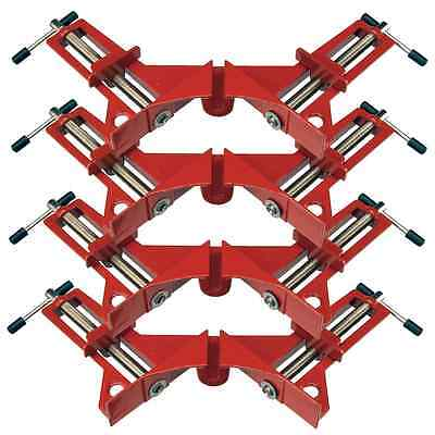 New 4 x Silverline 75mm Corner Clamps MitrePicture Framing Right Angled - 633969