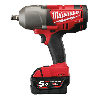 "Milwaukee M18CHIWF12-502X  FUEL Friction Ring Impact Wrench 1/2""  2x 5.0ah Kit"