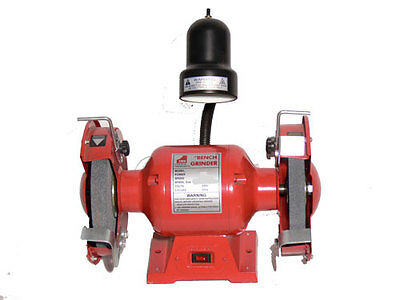 """BENCH GRINDER 6"""" (150mm) WITH WORKLIGHT 3/4 HP"""
