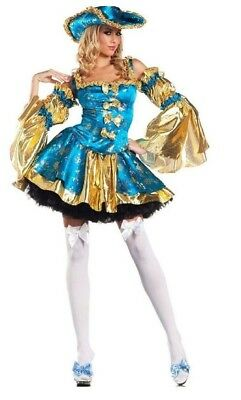 ad1d1b5966f BE WICKED SEXY Royal Guard Complete Costume New S   M 3 Pieces SM ...