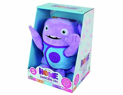 Dreamworks Home 23Cm Dancing Plush Oh Soft Toy Figure