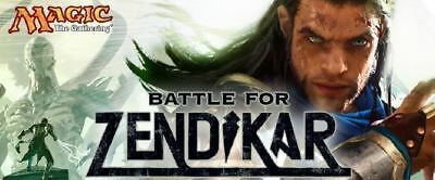 MTG - Battle for Zendikar - Full Complete Set FREE SHIPPING!