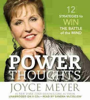 NEW Power Thoughts By Joyce Meyer Audio CD Free Shipping