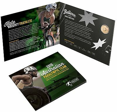 2016 PARALYMPIC First MultiColoured $2 Royal Australian Mint UNC RAM SELL OUT!!!