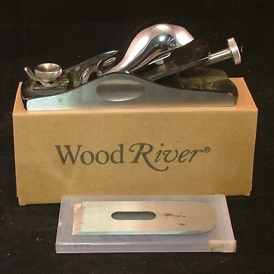 "WoodRiver 7-1/2"" Low Angle Block Plane with Extra Pinnacle A-2 Cryo Blade"
