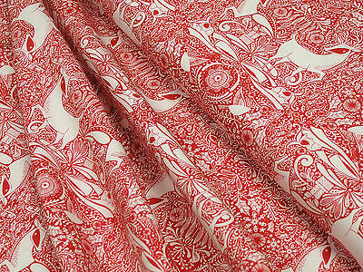 Weihnachtsstoff Blend Fabrics I Love Christmas The Gathering Red Baumwolle 0,5m