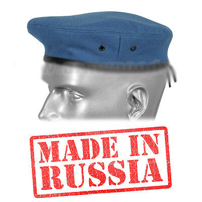 ea579261915 Russian blue Hats beret hat VDV Military Soviet Army WWII USSR paratrooper  swat
